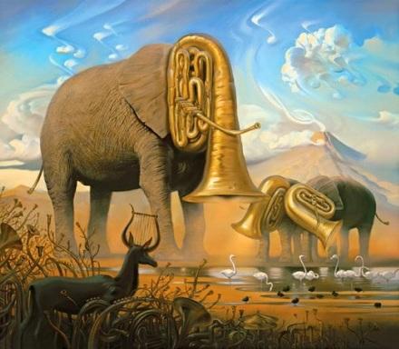 arte pintura musica vladimir kush