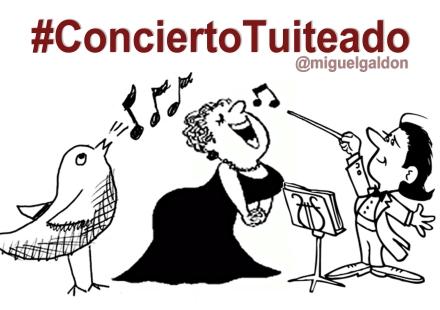 concierto tuiteado twitter 3