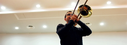 Miguel Galdon Trombon Escuela Musica Foios 2